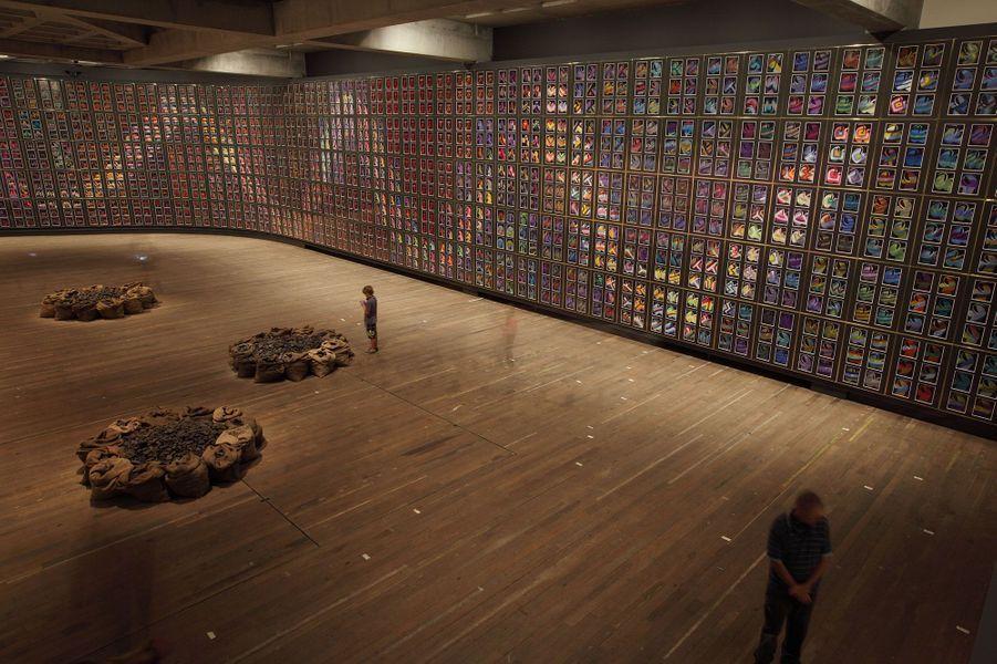 Collection permanente au Mona. Oeuvre : Mixed media on paper, 1620 sheets Untitled 2002 Jannis Kounellis (Piraeus, Greece, 1936)