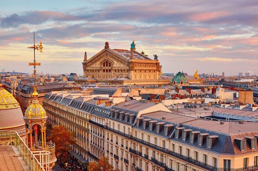 Vue des toits de Vienne.
