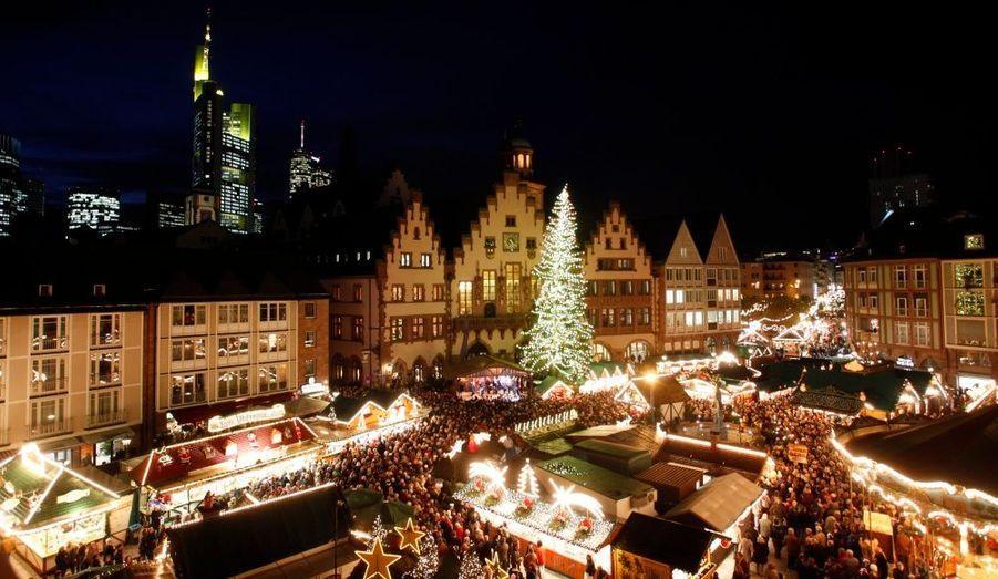 Francfort, la ville allemande la plus chère arrive en cinquième position.
