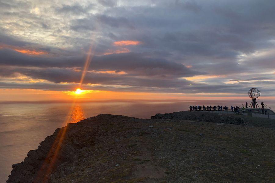 Solei de minuit, Cap Nord