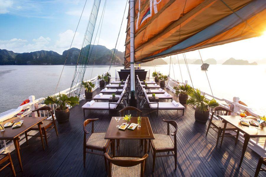 L'Aphrodite Cruise, à Ha Long (Vietnam).
