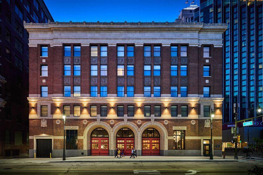 LeDetroit Foundation Hotel,Détroit, États-Unis.