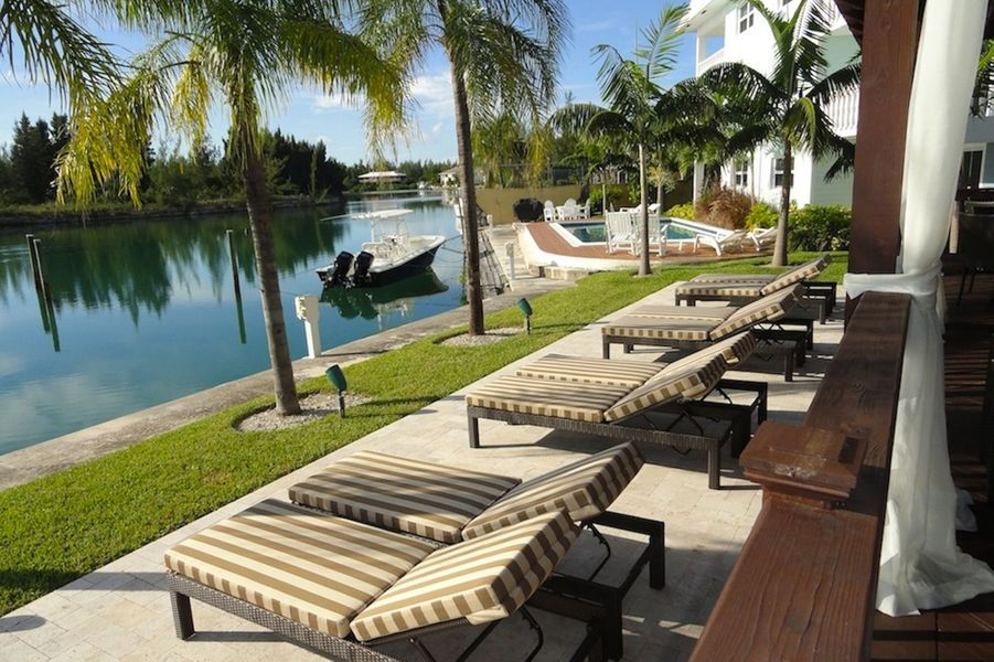 A Freeport, Bahamas : les appartements du Dolphin Cove.