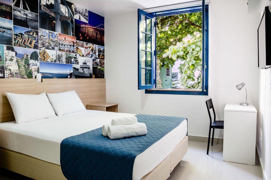Rio de Janeiro, Brésil : leInjoy Hostel.