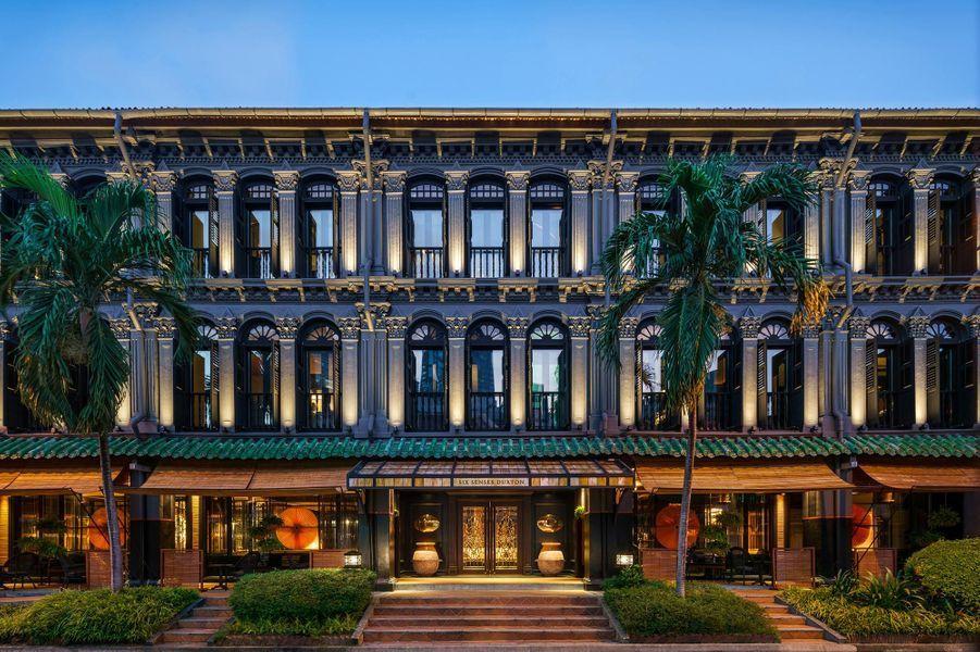 L'hôtel Six Senses Duxton, à Singapour.