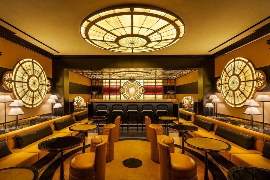 Le bar du Six Senses Duxton.