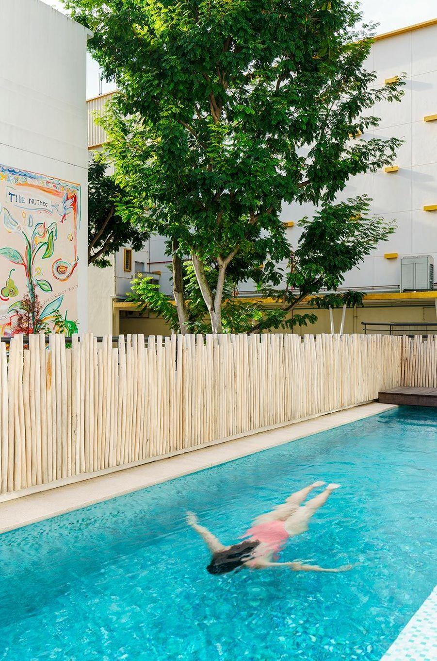 La piscine du Six Senses Maxwell.