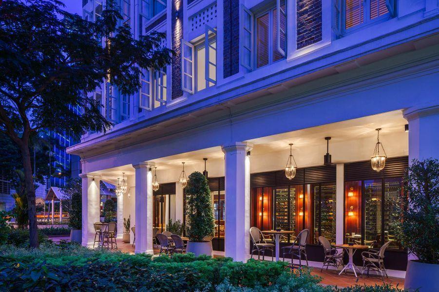 L'hôtel Six Senses Maxwell, à Singapour.