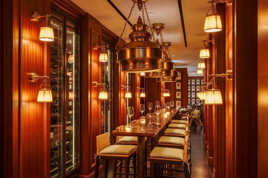 Le restaurant Murray Terrace, au Six Senses Maxwell.