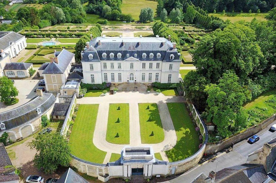 Àl'Hôtel Château du Grand-Lucé.