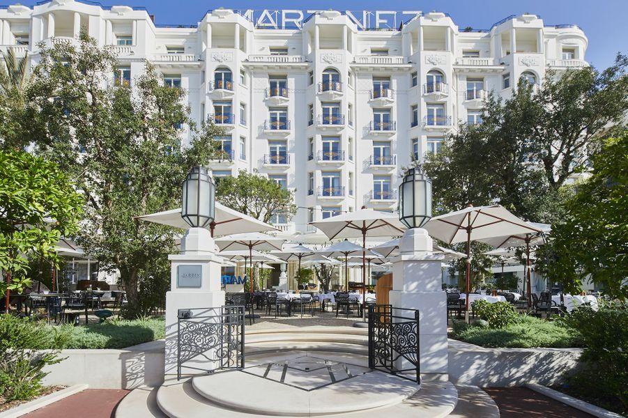 Visite de l'Hôtel Martinez à Cannes.