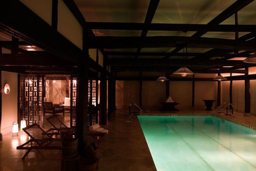 Visite duGreenwich Hotel à New York.