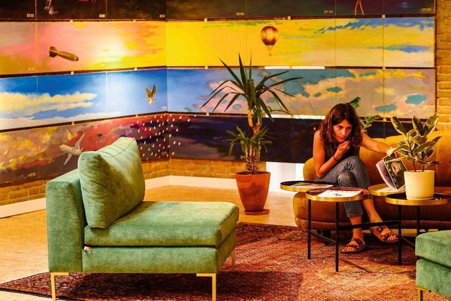 En quelques années, Tbilissi s'est mise en mode clubbing, restos conceptuels et artistes de rue. Comme au café Littera.