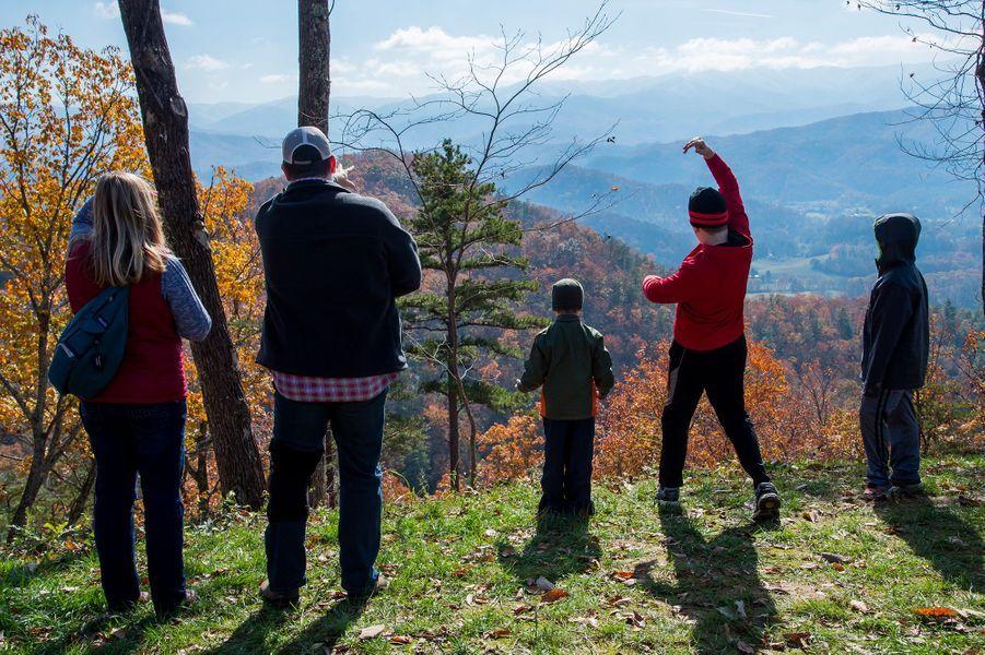 3ème :Parc national des Great Smoky Mountains, Etats-Unis