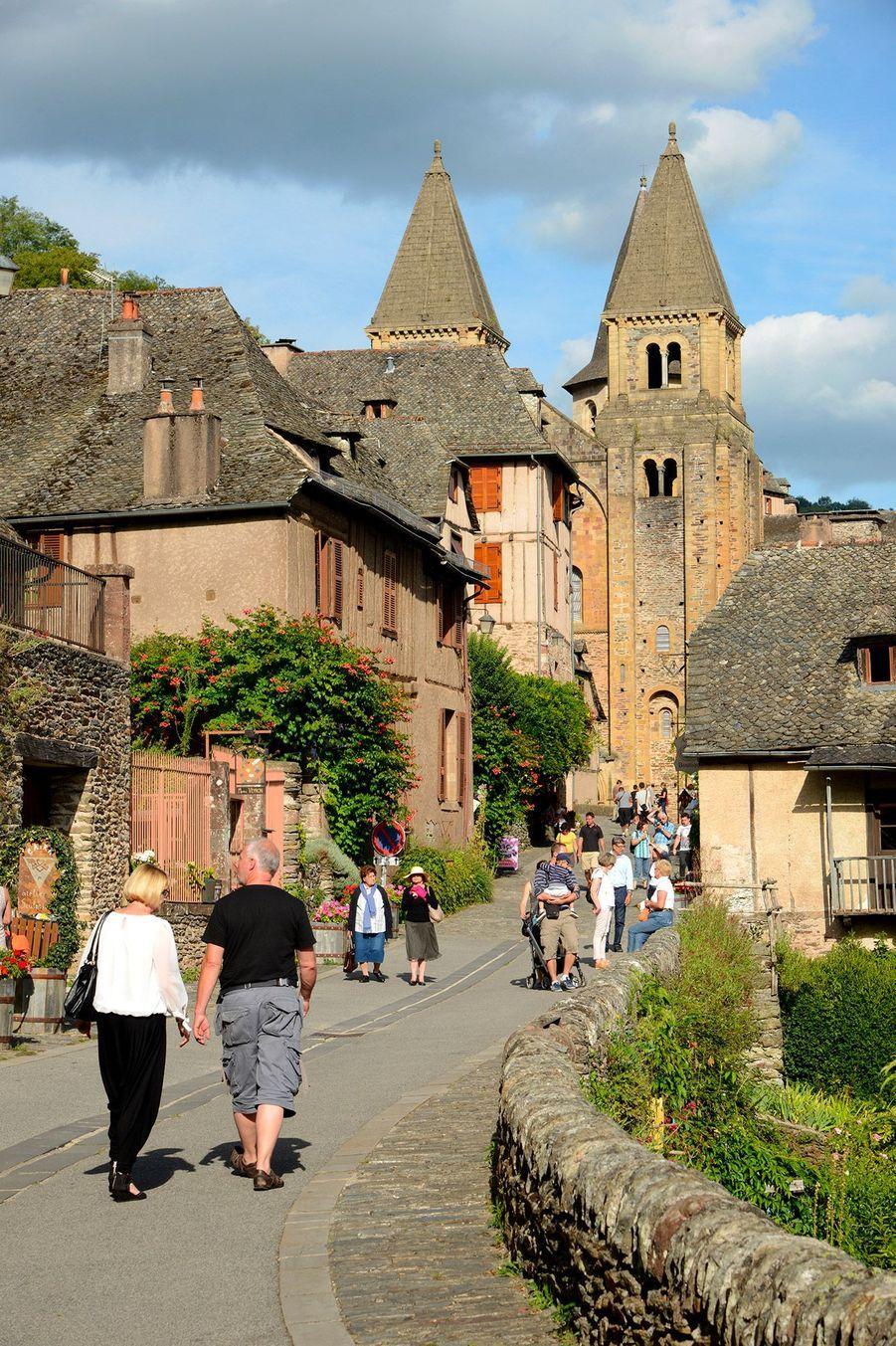 4ème -Conques, Aveyron.