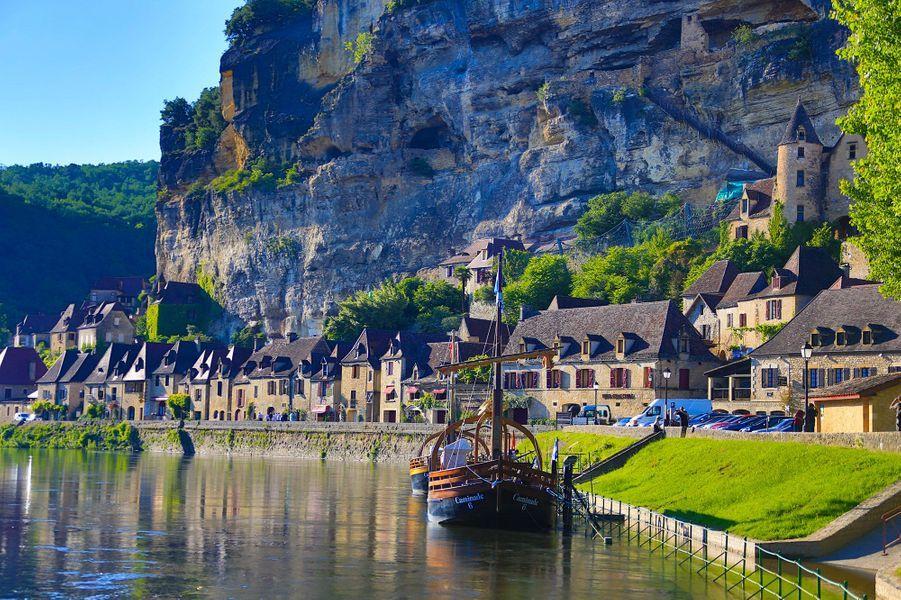 7ème -La Roque-Gageac, Dordogne.