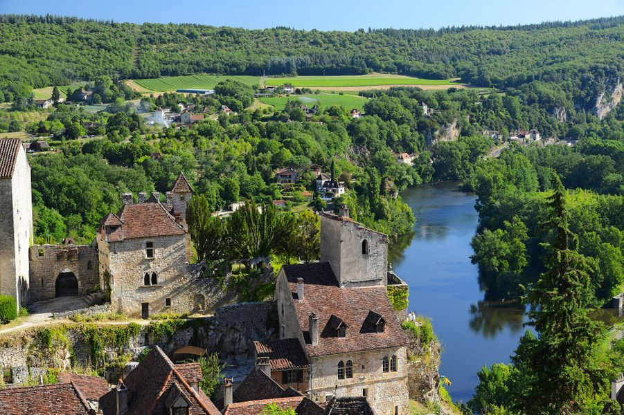 10ème -Saint-Cirq-Lapopie, Lot.