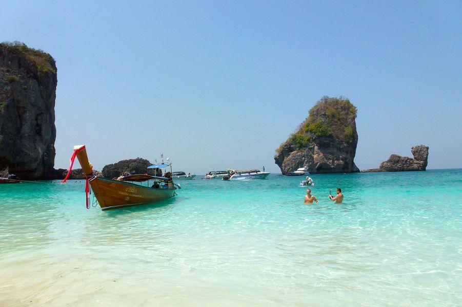 Sur l'archipel de Ko Phi Phi