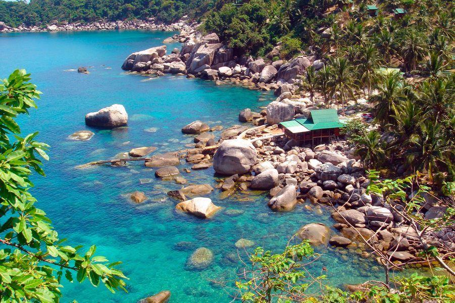 La plagede Tanote Bay à Koh Tao