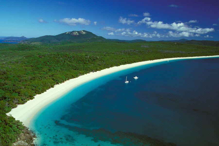 17. Whitehaven Beach, Whitsunday Island, Iles Whitsunday (Australie)