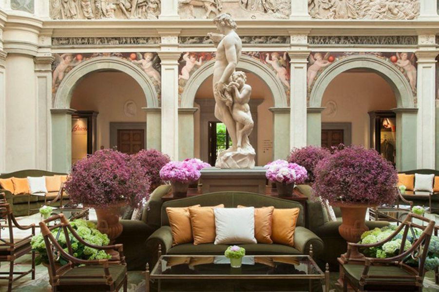 Où séjourner à Florence : Four Seasons Hotel Firenze.