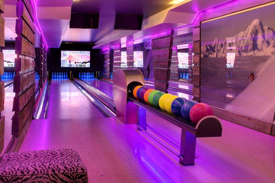 Le bowling, l'unique piste aux Barmes de l'Ours.