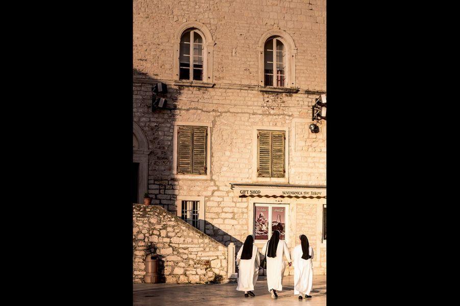 Le centre historique de Sibenik.
