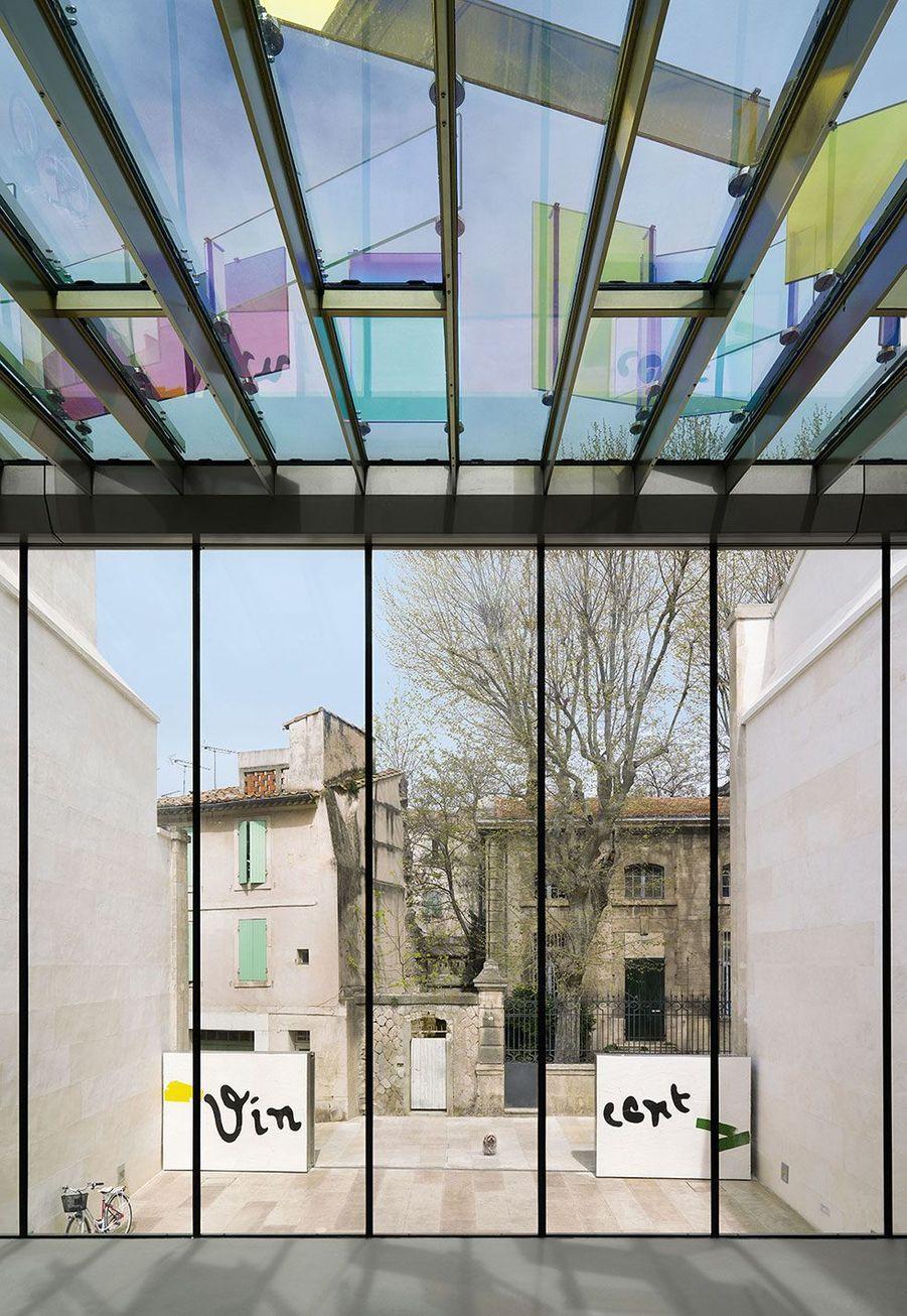 La cour intérieure duMusée Van Gogh