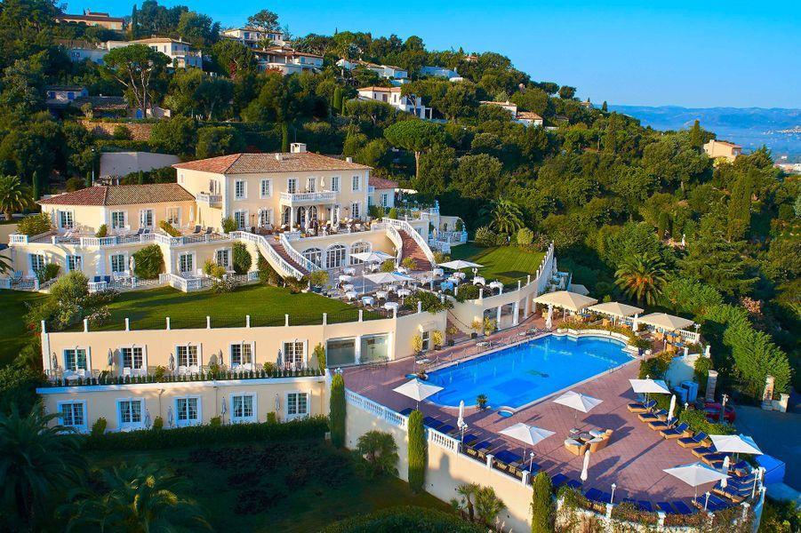 Le domaine de la Villa Belrose.