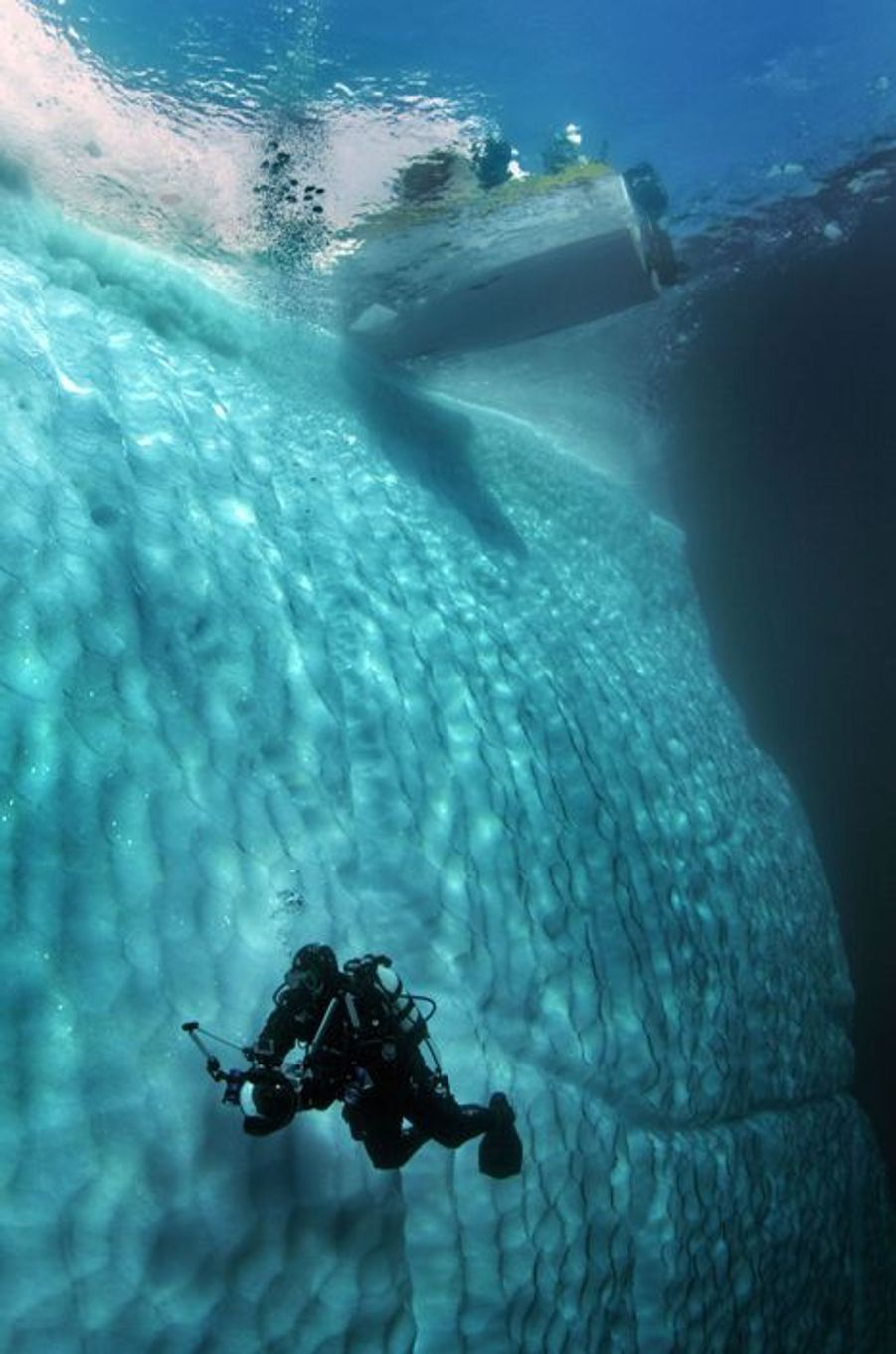 Vingt mille lieues sous la glace