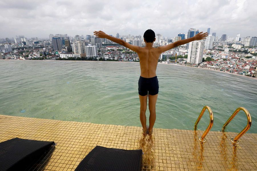 L'hôtelDolce Hanoi Golden Lake Hotel, au Vietnam