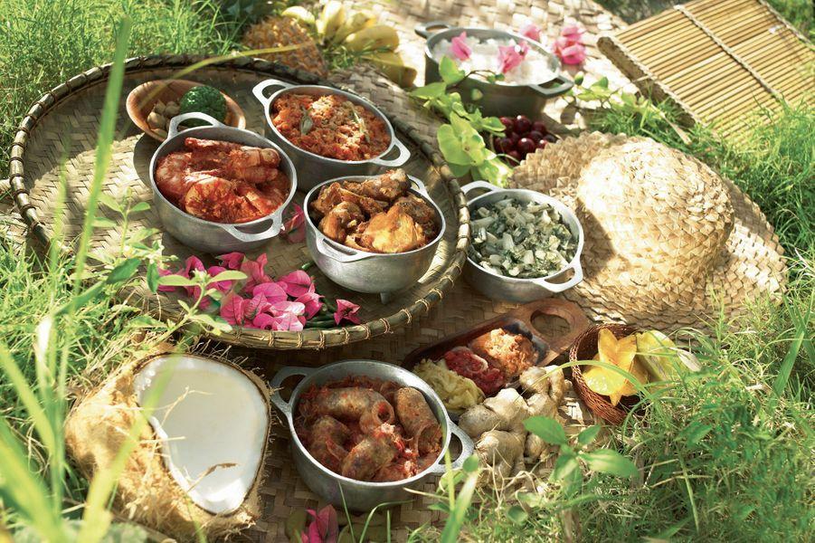 Le cari est le plat typique de l'île de la Réunion