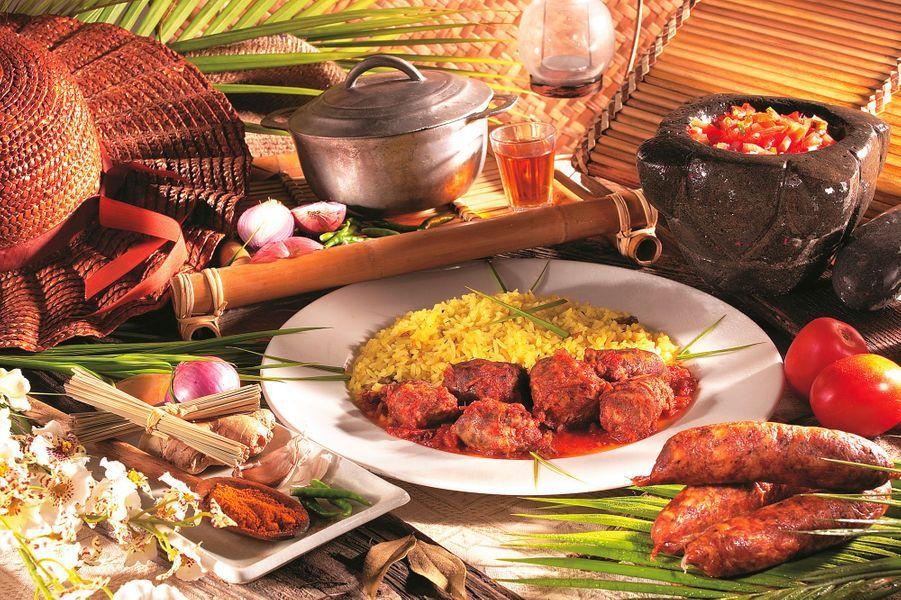 Le rougail saucisse: une recette typique de la Réunion