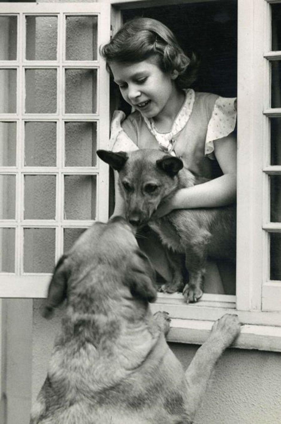 Elizabeth, en 1933
