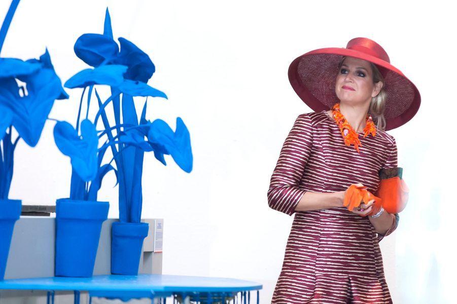 La reine Maxima à Rotterdam, le 19 juin 2015