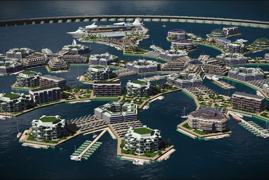 Fabuleux Artisanapolis, la ville flottante de demain QF37