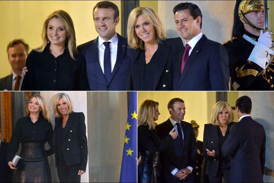Brigitte et Emmanuel Macron, leur chaleureuse rencontre avec le couple présidentiel mexicain
