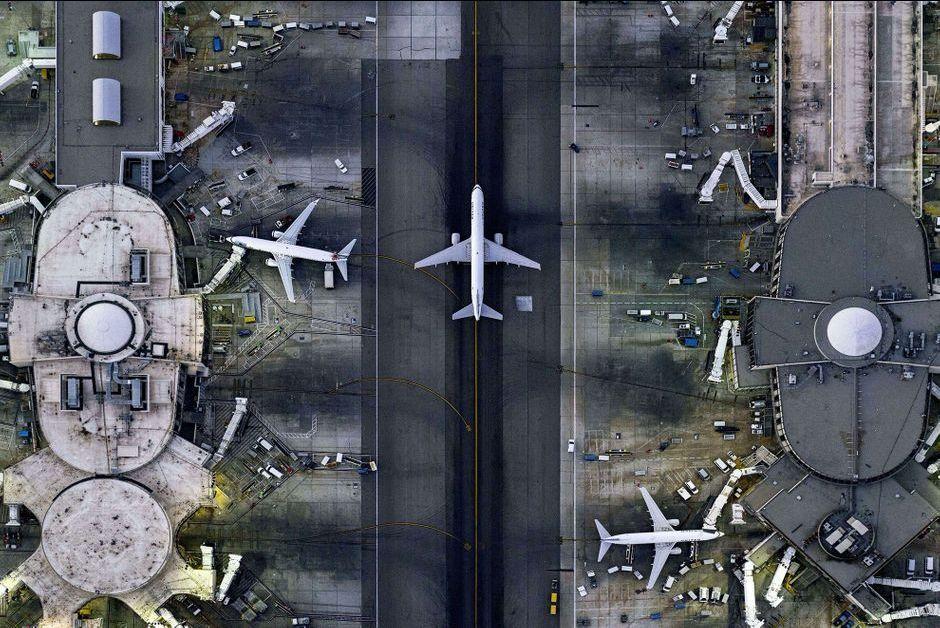 Par Jeffrey Milstein - Les beautes de l'urbanisme americain...