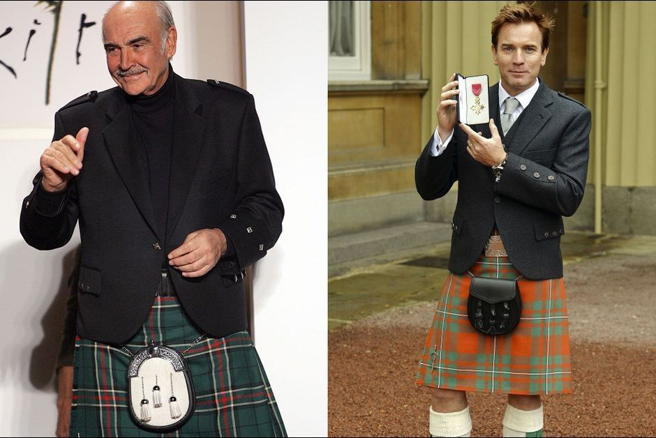 Sean Connery y Ewan McGregor