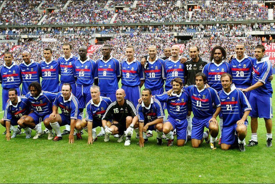 Football que sont devenus les champions du monde 98 - Coupe du monde 1994 equipe de france ...