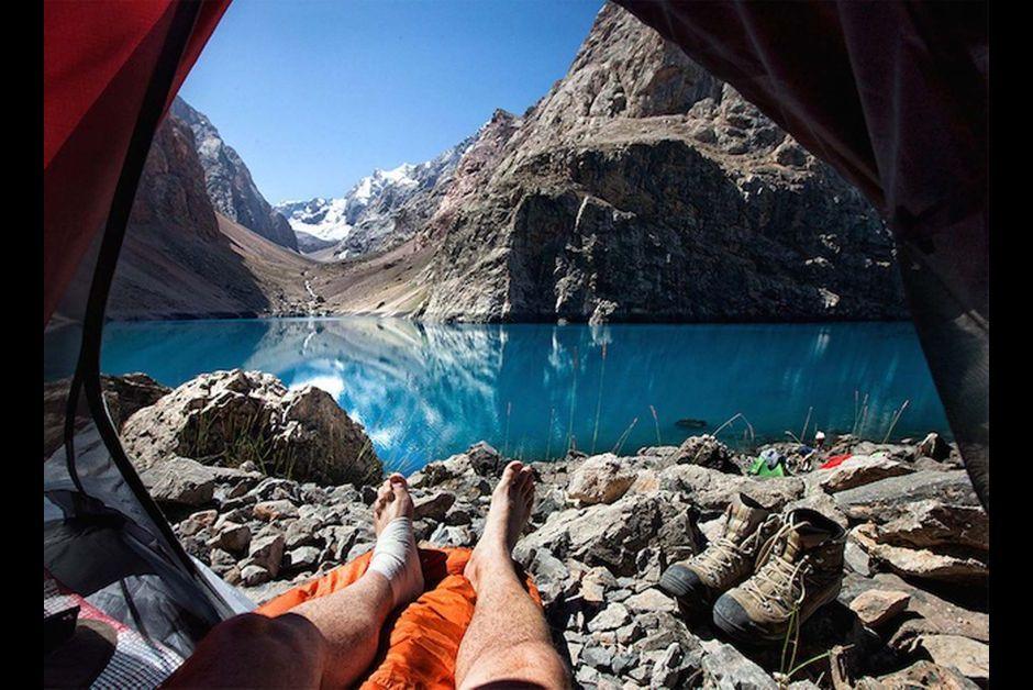 Evasion - Reveil au Tadjikistan...