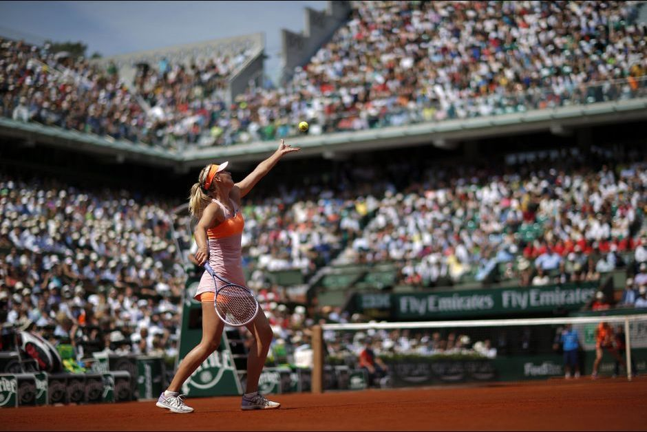 roland garros le triomphe de maria sharapova. Black Bedroom Furniture Sets. Home Design Ideas
