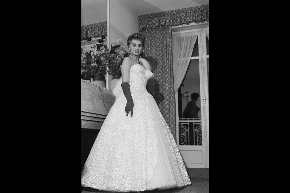 LE 8e FESTIVAL DE CANNES 1955 : SOPHIA LOREN