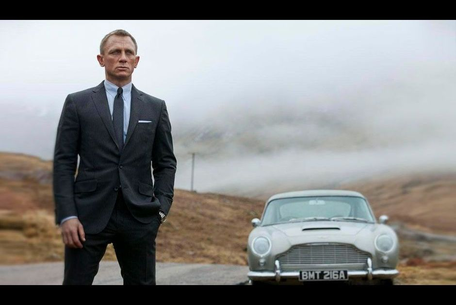 Skyfall. Aston Martin DB5