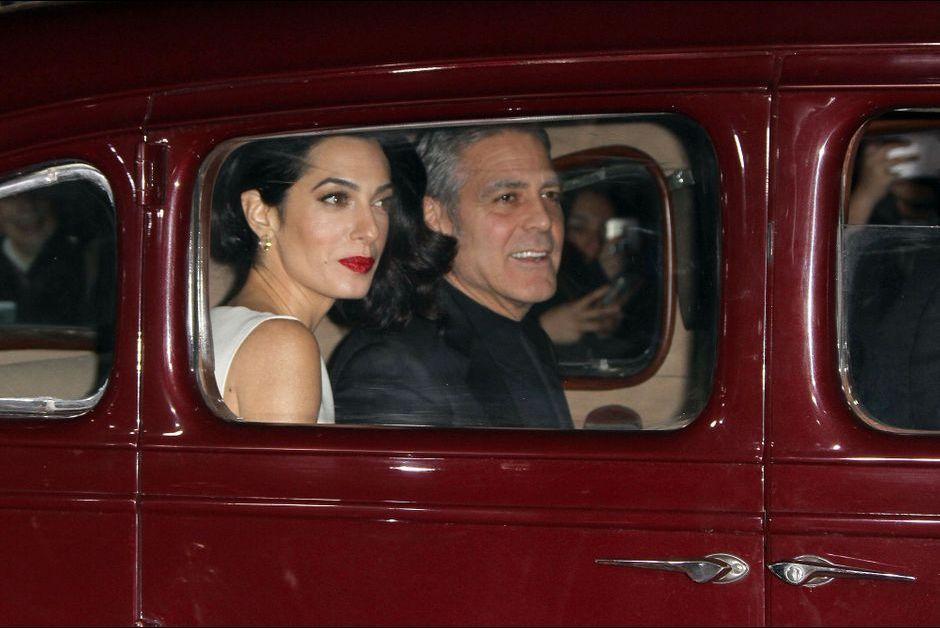 George Clooney and Amal Clooney at the Hail Caesar Premiere LA Amal-et-George-Clooney-a-Los-Angeles-le-1er-fevrier-2016