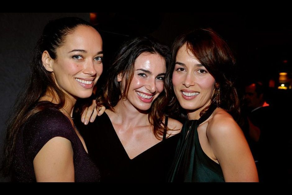 Dolores, Carmen et sa copine Samantha Conversi.