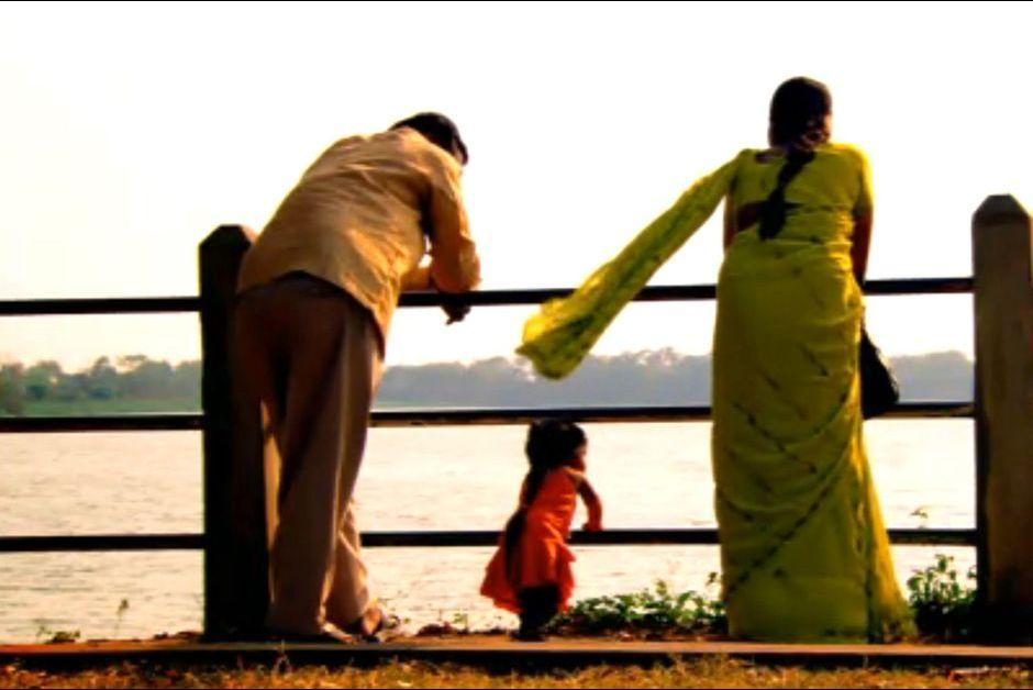 Jyoti Amge dans le documentaire qui lui était consacré, en 2009