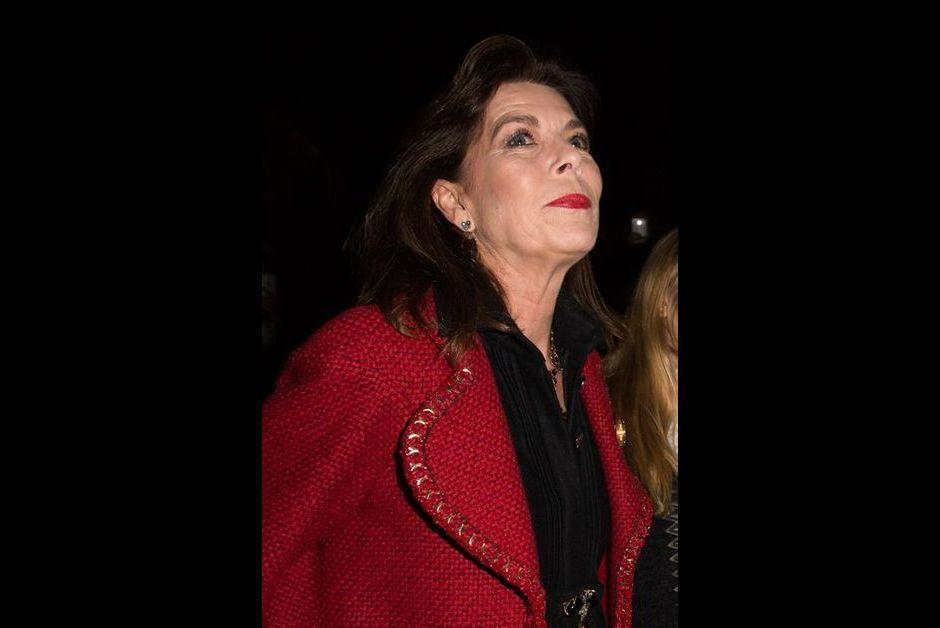 La princesse Caroline de Hanovre au défilé Chanel à Rome, le 1er décembre 2015