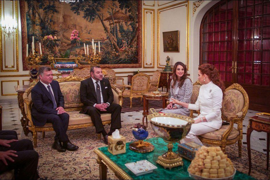 en photos les pouses des rois du maroc et de jordanie lalla salma et la reine rania r unies. Black Bedroom Furniture Sets. Home Design Ideas
