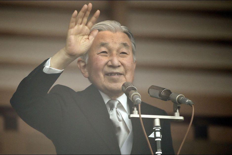 L'empereur Akihito du Japon à Tokyo, le 23 décembre 2015